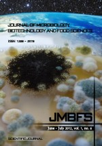 JMBFS Issue - June &#8211; July 2012, vol. 1, no. 6