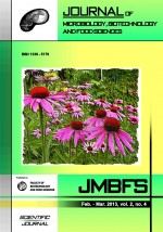 JMBFS Issue - February – March 2013, vol. 2, no. 4