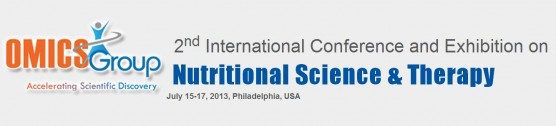 2nd International Conference and Exhibition on Nutritional Science & Therapy