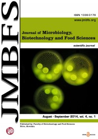 JMBFS Issue - August – September 2014, vol 4, no. 1