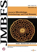 JMBFS Issue - October – November 2014, vol. 4, no. 2