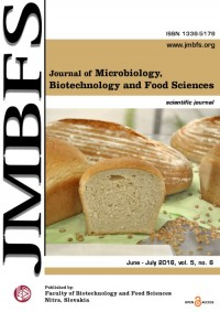 JMBFS Issue - June – July, 2016, vol. 5, no. 6