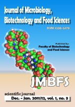 JMBFS Issue - December 2011  – January 2012, vol. 1, no. 3