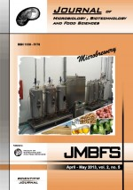 JMBFS Issue - April – May 2013, vol. 2, no. 5