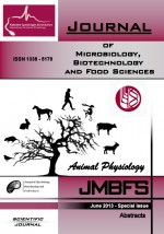 JMBFS Issue - Abstracts Special issue on Animal Physiology 2013, vol. 2, Abstracts special issue