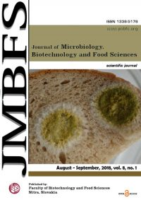 JMBFS Issue - August – September 2018, vol. 8, no. 1