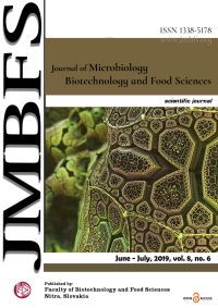 JMBFS Issue - June – July, 2019, vol. 8, no. 6